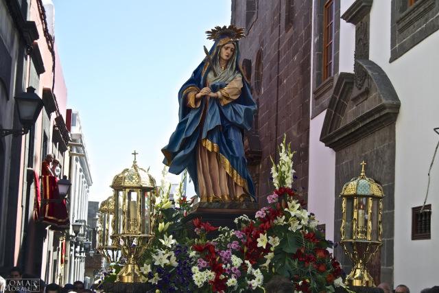 Nuestra Señora de los Dolores de Luján Pérez, S XVIII, Diócesis de Canarias
