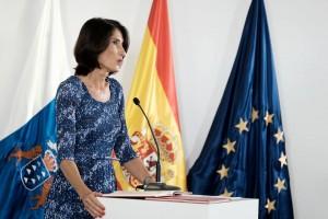 María Teresa Lorenzo, consejera de Turismo del Gobierno canario.