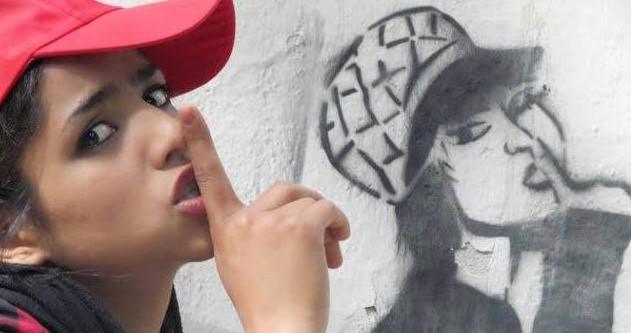 Sonita Alizadeh, la niña afgana de 15 años que ganó su libertad y su vida con un rap (fotografía del Facebook oficial).