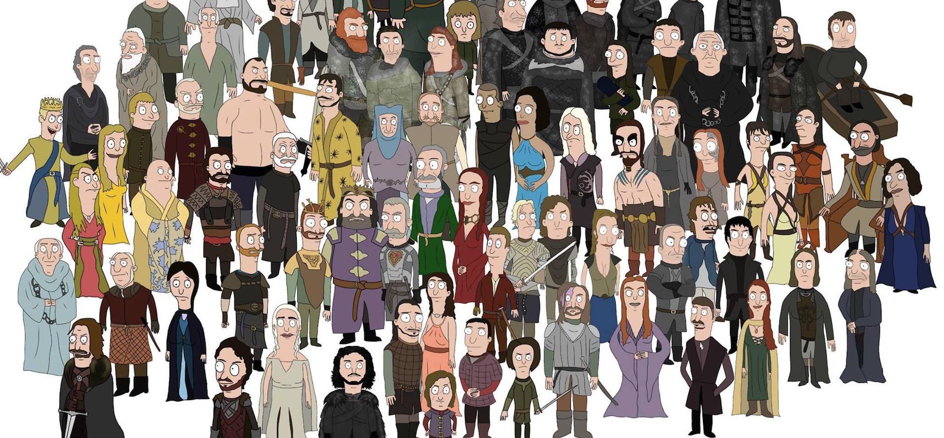 Supervivientes, vivos, no vivos, muertos y no muertos...Siete Reinos y un sólo enemigo: la muerte.