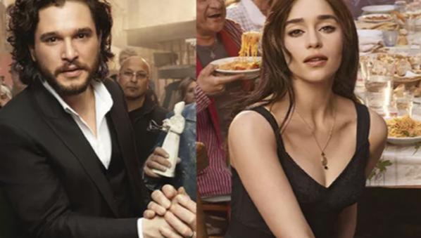 2018 y Dolce & Gabbana eligen a Daenerys Targaryen y a Jon Nieve para perfumar la espera.