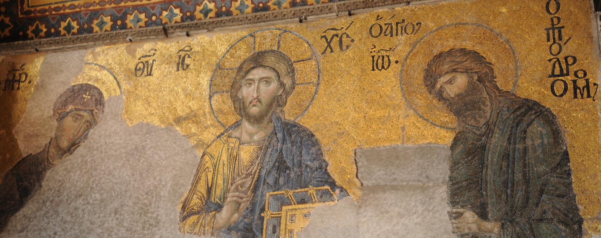 Estambul atesora la imagen universalmente más famosa del 'Pantocrátor' en Santa Sofía.