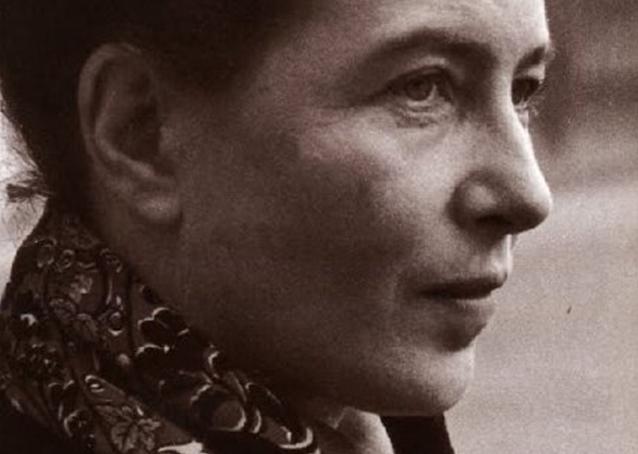 """Simone de Beauvoir: """"El problema de la mujer siempre ha sido un problema de hombres""""."""