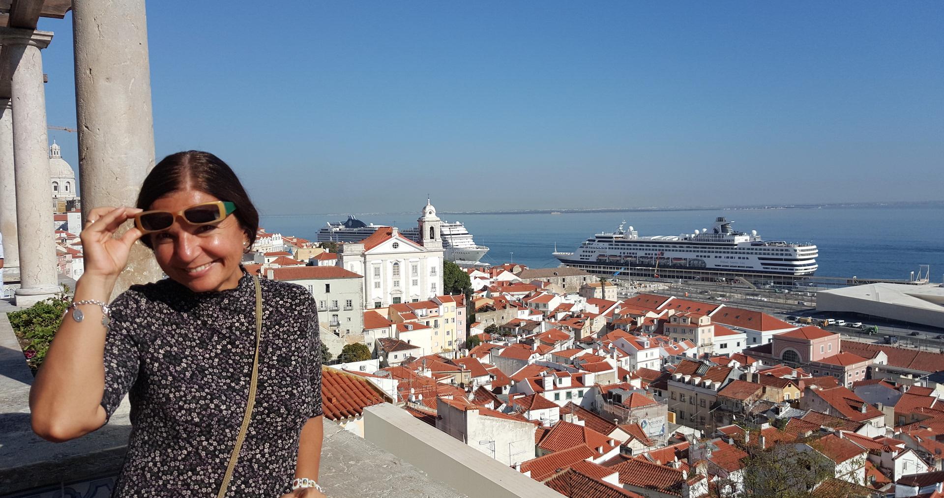 El mirador de Santa Lucía te ofrece una de las vistas más bonitas de todo Lisboa (Fotografía de la autora, Esiral21).