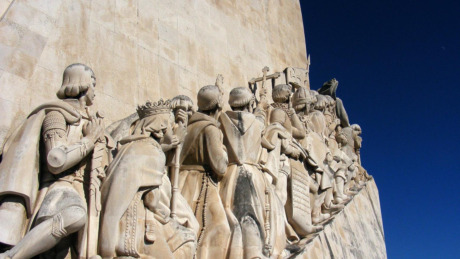 El 'Monumento a los Descubrimientos' mira hacia el otro lado del Océano, pero Lisboa ya conquistó ese otro.
