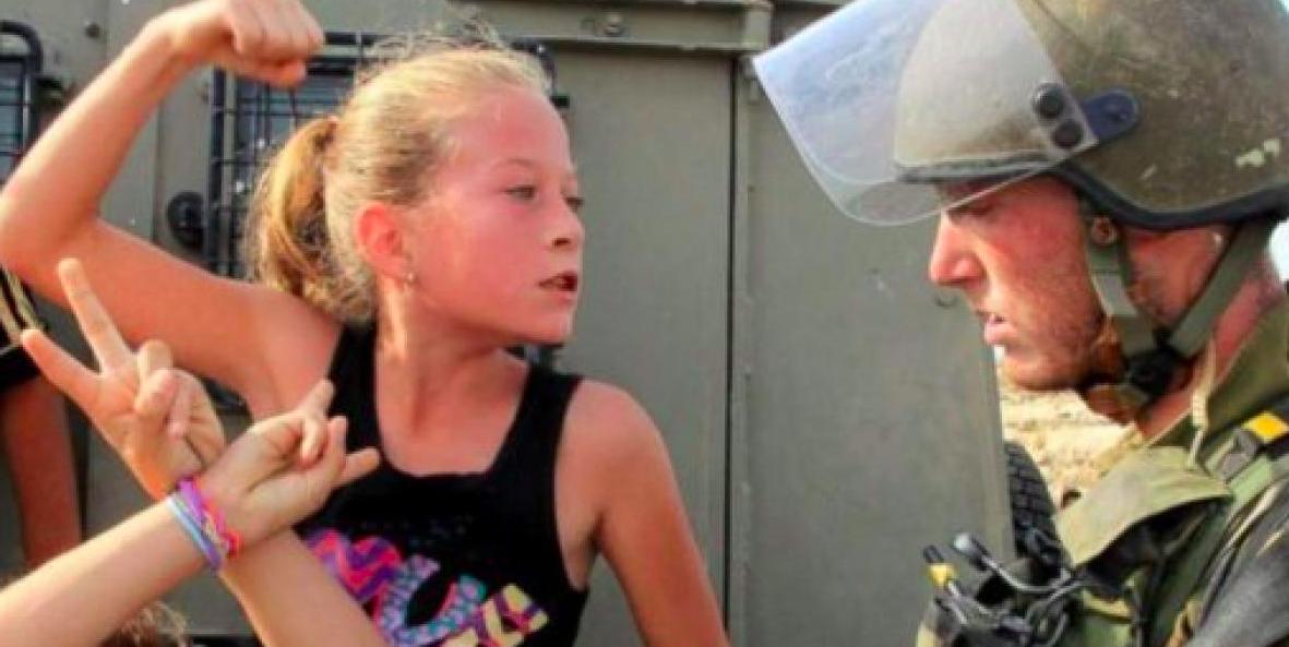 El activismo por la causa palestina ha hecho de Ahed Tamimi un icono desde niña.