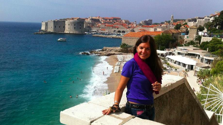 Dubrovnik es, verdaderamente, esa ¡Perla del Adriático', la mires desde donde la mires (Fotografía de la autora del reportaje para Espiral 21).