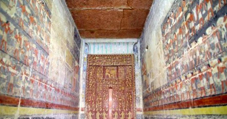 ¿Quién podría resistirse a ver las escenas tal cual fueron pintadas hace 4.600 años?