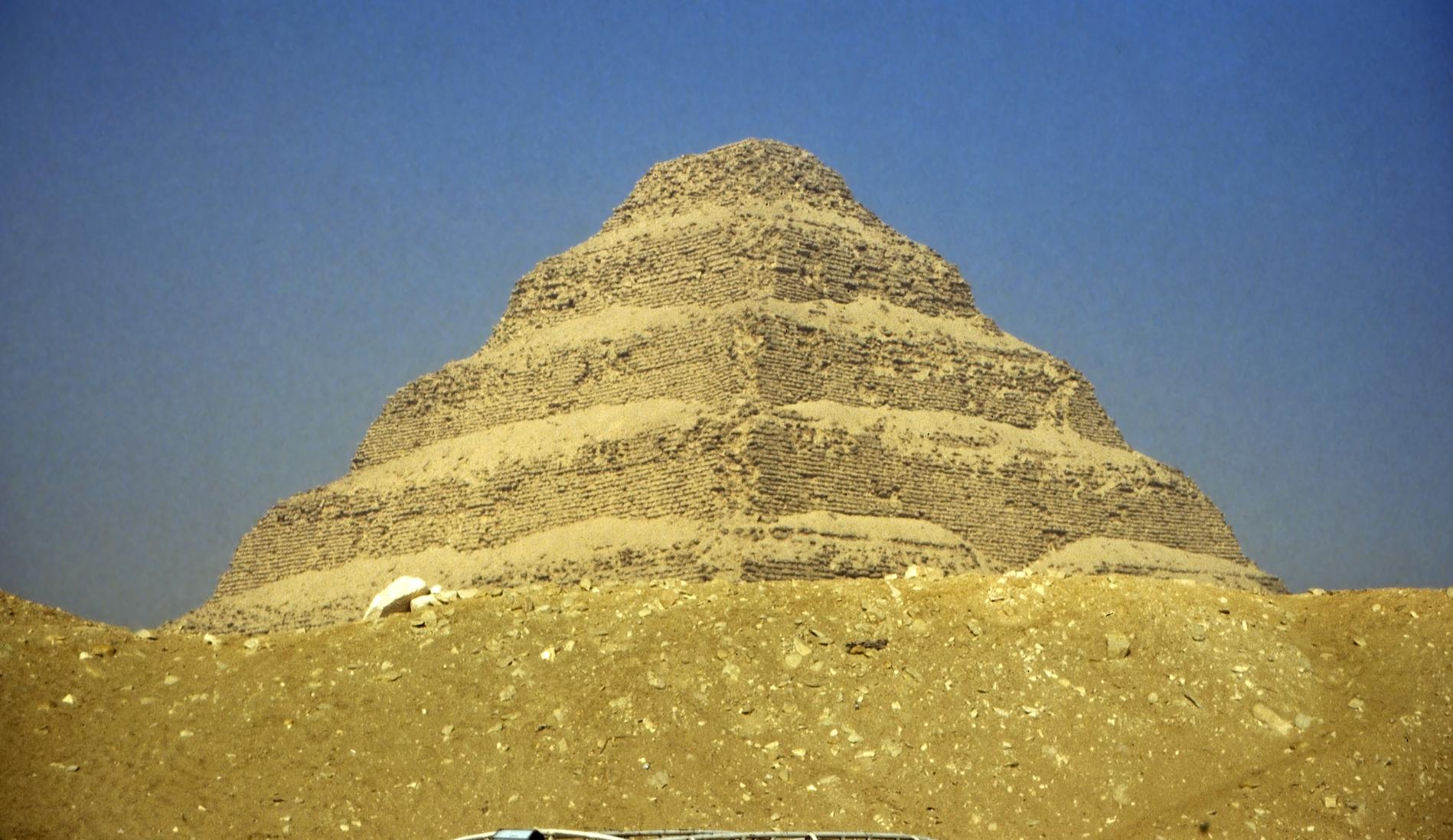 La Pirámide escalonada de Saqqara es la 'madre' de todas las pirámides del mundo (Fotografía bajo licencia de Creative Commons).