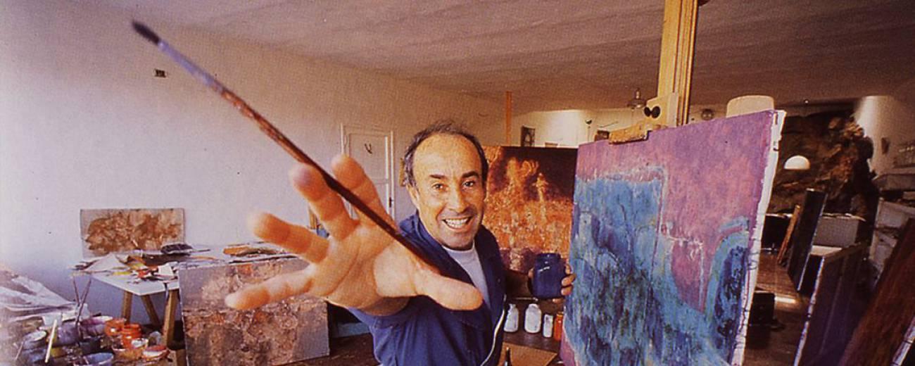 César Manrique, artista nato, mostraba la misma pasión en todo cuanto hacía.