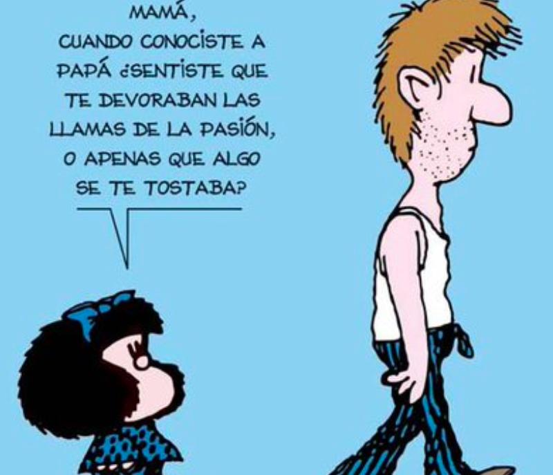 Quino, padre de Mafalda, siempre cuestionó el por qué de las cosas hasta el final.